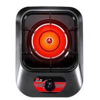 红日(RedSun)红外线单灶燃气灶 煤气灶单灶 节能猛火灶 液化气灶 不易粘油面板 台式单灶 E828D 液化气