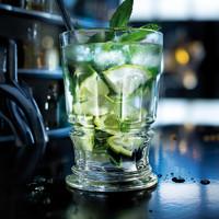 法国原产La Rochère PRESSES系列宽口长饮杯玻璃杯酒杯饮料杯 透明