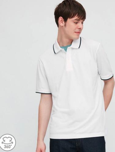 UNIQLO 优衣库 427015 男士DRY-EX POLO衫