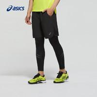 ASICS亚瑟士运动紧身裤男弹力健身跑步长裤2011A260-0779