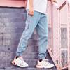 森马/semir旗下品牌爱肯 Aiken 2019春季新款 男装牛仔长裤AK119201205 牛仔浅蓝 30