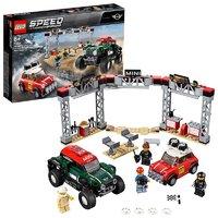 LEGO乐高积木玩具赛车系列 Mini Cooper赛车75894