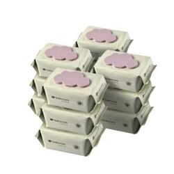 京东PLUS会员 : BabyCare 6480 婴儿手口湿巾  80抽-12包 *3件 +凑单品