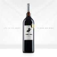 PLUS会员:FIRST CREEK 福斯特溪 贼鸟 西拉干红葡萄酒 750ml