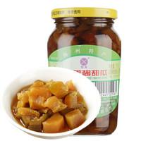 三和四美 酱甜瓜 375g*11瓶 + 食圣 零添加210天纯粮酿造特级生抽 1L