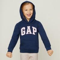 Gap 盖璞 女童基本款长袖连帽卫衣