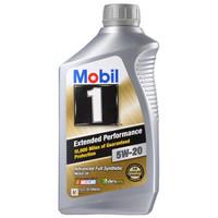 Mobil 美孚 美孚1号 长效EP SN 5W-20 全合成机油 1QT *6件