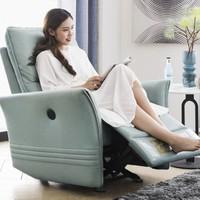 左右 DZY5056 科技布单人功能沙发 手动款