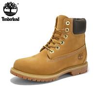 Timberland 添柏岚 6英寸 12909 大童款工装靴