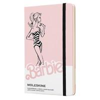 有券的上:MOLESKINE 魔力斯奇那限量款 芭比条纹泳装硬面纯白笔记本 A6/240页 *2件