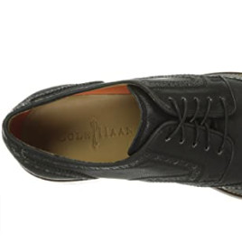 COLE HAAN Lenox Hill Casual 男士真皮休闲鞋 Black Milled US9.5