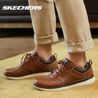 Skechers 斯凯奇 66439 男士低帮休闲皮鞋