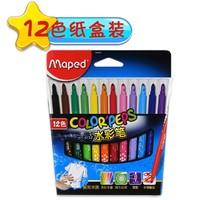 Maped 马培德 845051 儿童水彩笔 12色 纸盒装