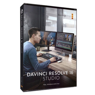 DaVinci Resolve studio 16 达芬奇多功能视频调色软件 买断式授权 序列号卡片 一号两机 3个工作日内发货