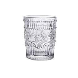 十里峰镇 浮雕玻璃杯 260ml