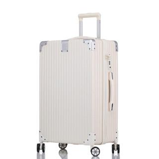 奢选 SHEXUAN 拉链密码拉杆箱简约时尚休闲旅行箱学生男女行李箱出差旅游箱子大容量 980