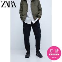 ZARA 00108405800 男士束脚工装裤