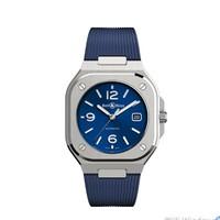 BELL & ROSS 柏莱士 BR05A-BLU-ST 男士自动机械手表