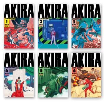 《阿基拉 东立重印版》(1-6册)