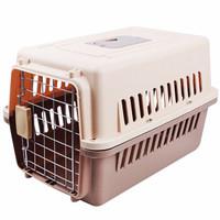 绅士猫 宠物航空箱狗狗猫笼子便携外出外出箱空运托运箱旅行箱车载狗笼子 中号