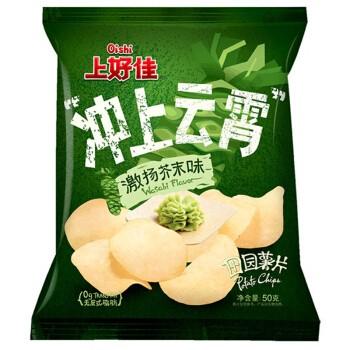 上好佳 田园薯片 芥末口味 50g