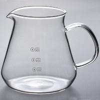 朴原良品 耐热玻璃牛奶壶果汁壶 咖啡壶