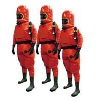 霍尼韦尔(Honeywell)EasyChem外置式重型防化服 气密型1400020-M-44防护服 1套