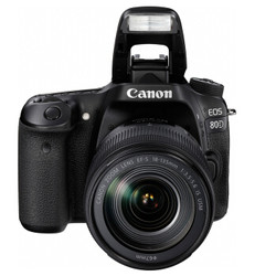 佳能 EOS 80D(EF-S 18-135mm f/3.5-5.6)单反相机套机