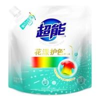 超能 花漾护色洗衣液 补充袋 2.5kg *2件