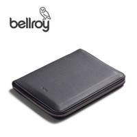 Bellroy澳洲进口Work Folio A5真皮商务旅行文件夹记事本牛皮保护 A5石墨灰/Graphite