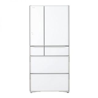 HITACHI 日立 675升 进口六门冰箱 R-G690G1C(XW) 水晶白