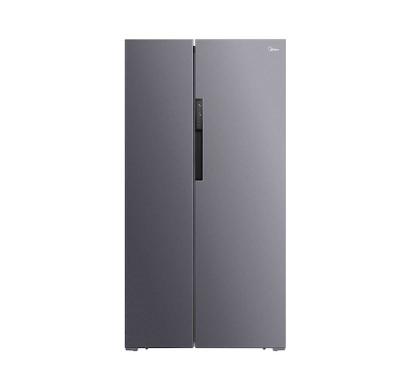 Midea 美的 BCD-606WKPZM(E) 变频风冷对开门冰箱 606L 银色