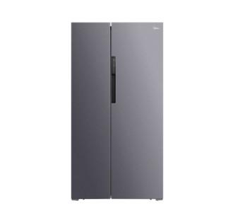 Midea 美的 BCD-606WKPZM(E) 风冷对开门冰箱 606L 银色