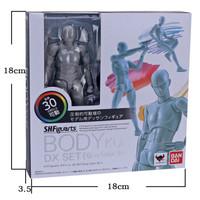 男女素体关节可动人偶DX 豪华版绘画模型工具(国产版) 灰色男素体豪华版