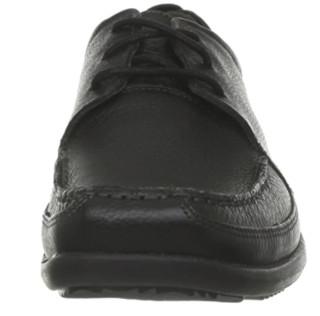 Hush Puppies 暇步士 Accel MT 男款真皮休闲鞋 Black Leather US10