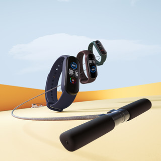 MI 小米 小米手环5 NFC版 智能手环 黑色 硅胶表带