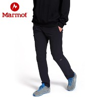 Marmot 土拨鼠 R80970 男士弹力软壳裤