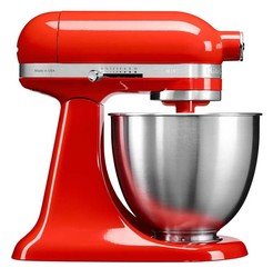 KitchenAid 凯膳怡 5KSM3311XC 多功能搅拌和面机 3.3L迷你版 暖橘红