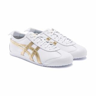 京东PLUS会员 : Onitsuka Tiger 鬼塚虎 MEXICO 66 1183A499 男女款运动鞋+T恤