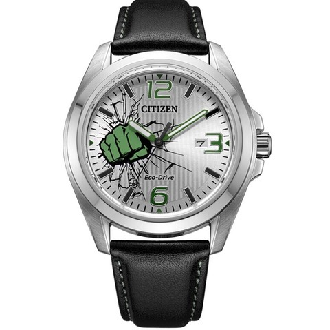 CITIZEN 西铁城 漫威联名款系列 AW1431-24W 男士光动能腕表