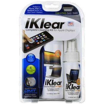 iKlear 电脑清洁套装 MacBook笔记本电脑清洁布液晶屏幕清洁剂 手机清洁工具IK-26K 清洁套装 240ml