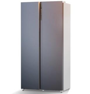 JIWU 苏宁极物 小Biu系列 JSE5228LP 风冷对开门冰箱 520L 炫空银