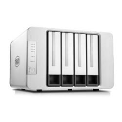 TerraMaster 铁威马 F4-422 万兆四盘位NAS 网络存储服务器 白色+凑单品