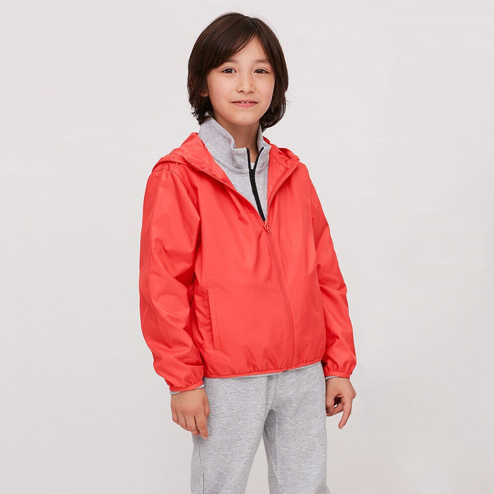 UNIQLO 优衣库 女童防晒防晒衣 419855 橘色 110cm