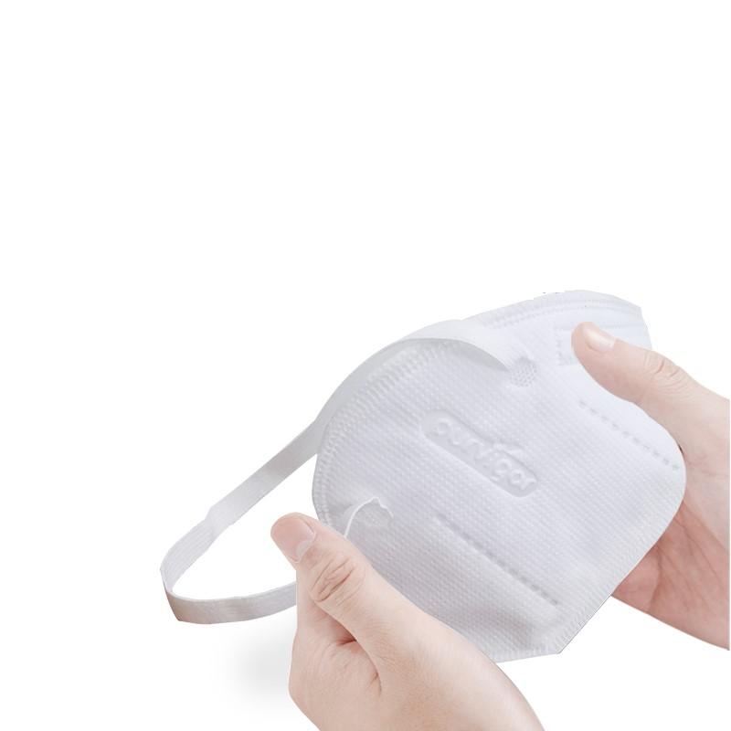 KN 一次性成人薄款防护口罩 白色 50只