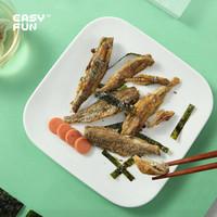 薄荷健康 Easy Fun 高钙高蛋白小酥鱼4包混合装(非油炸烘烤)休闲零食 健身轻食代餐即食