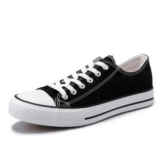 WARRIOR 回力  WS391 中性低帮帆布鞋 黑色 34