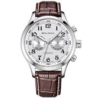 双11预售:SeaGull 海鸥 里程系列 819.13.5114 男士机械手表