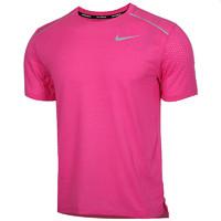 茵特Nike耐克速干短袖男2020夏季粉色健身运动T恤半袖AQ9920-686