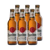 博世纳啤酒 (Pilsner Urquell) 捷克进口 皮尔森 黄啤酒 330ml*6瓶